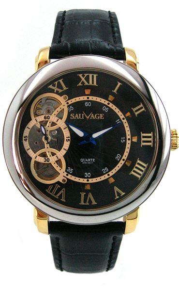 Часы Sauvage SA-SP78910SG BK