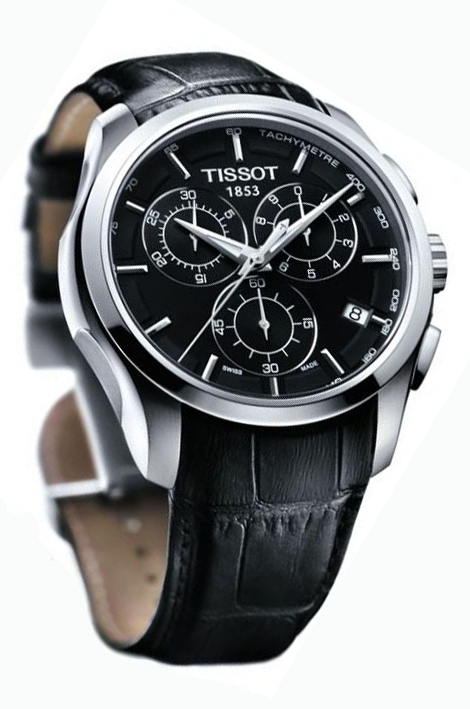 Часы тиссот t035 t couturier обзор