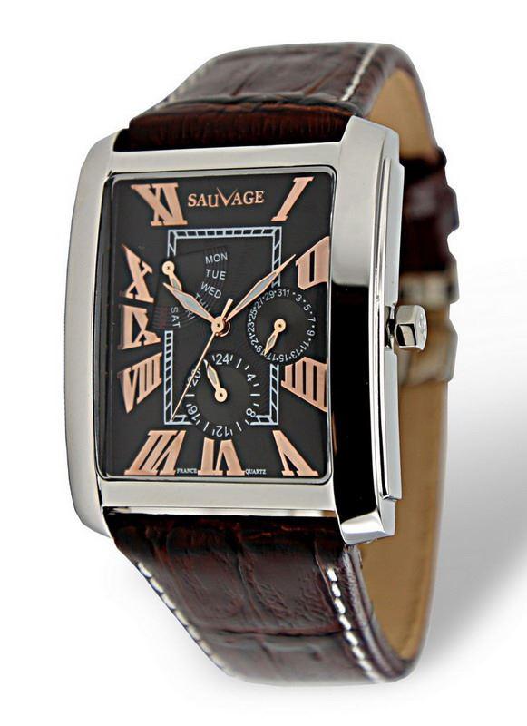 Часы Sauvage SA-SP78768S RG
