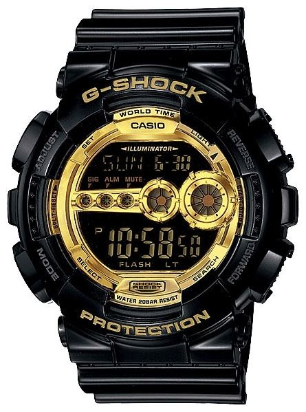 Часы CASIO GD-100GB-1ER фото 1